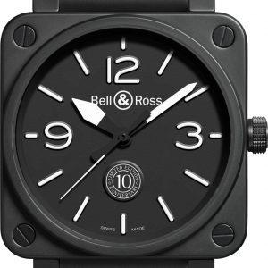 Mesure et art du temps - BELL & ROSS - BR 01-92 CARBON