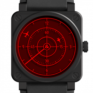 Mesure et art du temps - When it was released in 2011, the famous BR 01 Red Radar made its mark. It breaks the codes. Its design, very close to the aerial radar, is as surprising as spectacular. Its graphics reproduce the scanning of the light beam of a radar screen with a striking realism. The striking red crystal that covers the dial is reminiscent of an air traffic control instrument. This year marks the return of this watchmaking UFO. The new BR 03-92 Red Radar Ceramic is as contemporary as ever. It revisits the graphics of an air traffic control radar. In doing so, it overturns the traditional codes of the watch display. The time is read off via a system of rotating discs, combined with an analog hand. The dial is covered with a red sapphire crystal. The Bell & Ross watchmaking company is in a perpetual quest for innovation and performance. Avant-garde and iconoclastic, its new BR 03-92 Red Radar Ceramic perfectly embodies this spirit. This exceptional timepiece combines watchmaking and design. Contemporary and sophisticated, it will appeal to collectors of original timepieces as well as to design enthusiasts and aeronautics buffs.