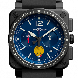 Mesure et art du temps - By becoming a partner of the Patrouille de France, Bell & Ross associates itself with the values that this prestigious unit of the French Air Force and Space Force conveys, and also becomes an ambassador of French military aeronautical excellence. Bell & Ross has worked closely with the pilots to design a chronograph perfectly adapted to their needs: the BR 03-94 PATROUILLE DE FRANCE.