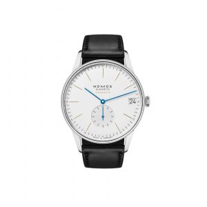Mesure et art du temps - The new neomatik caliber with date indicator allowed NOMOS designers to find the best position for each watch model. There is definitely enough space with its 41 millimeter diameter, this new version of the NOMOS classic is undeniably large.
